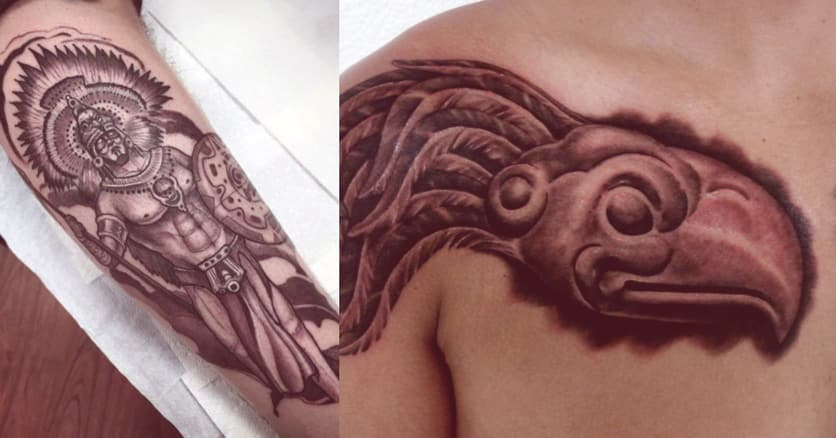 tatuajes-mayas-aguila