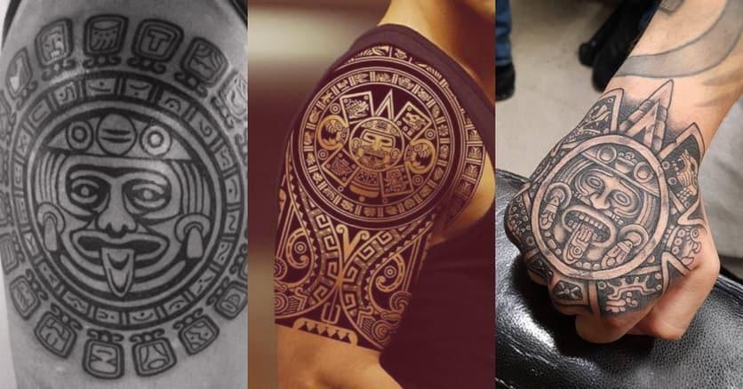 tatuajes-mayas-sol